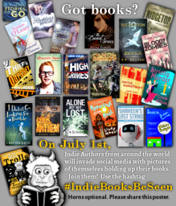 Indie Books Be Seen poster